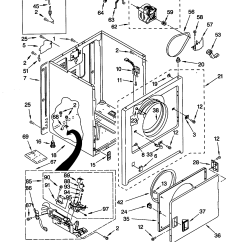Kenmore Gas Dryer Parts Diagram Cruise Control Wiring Chevrolet Elite He3 Repair Manual