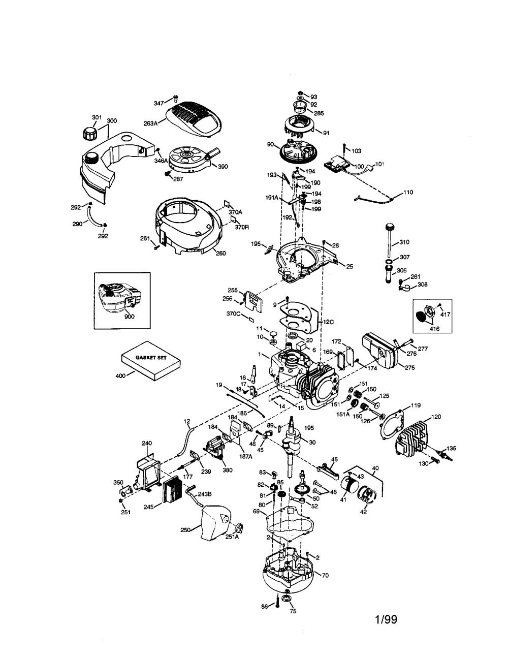medium resolution of craftsman 143996700 craftsman 4 cycle engine diagram