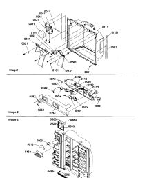 amana sxd22s2w p1303503ww electronic bracket assembly diagram [ 1696 x 2200 Pixel ]