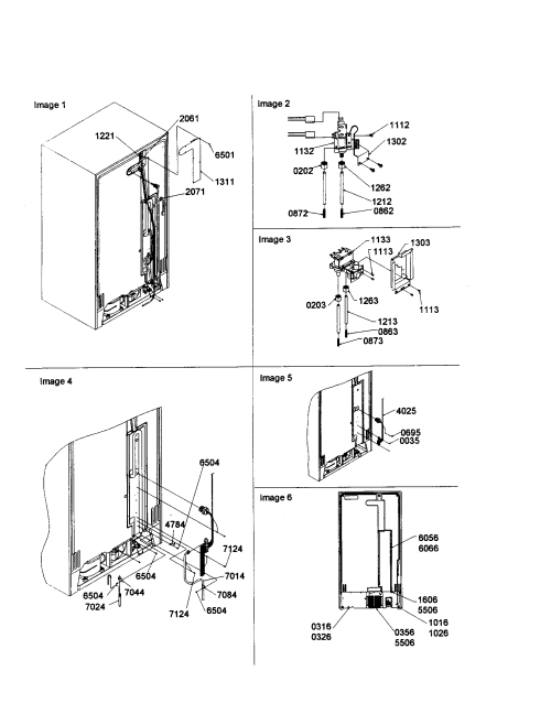 small resolution of amana sxd22s2w p1303503ww cabinet back diagram