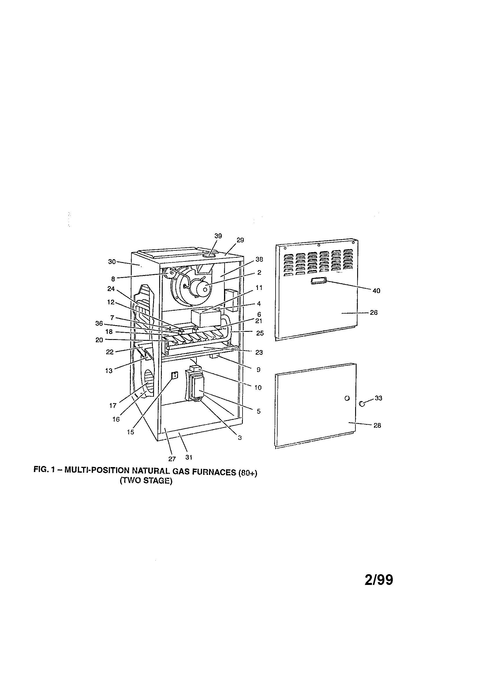 YORK FURNACE Parts