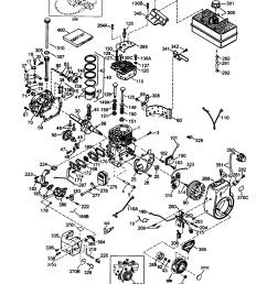 craftsman 143001103 craftsman 4 cycle engine diagram [ 1648 x 2338 Pixel ]