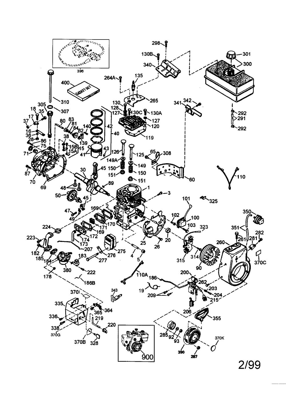 medium resolution of craftsman 143001103 craftsman 4 cycle engine diagram