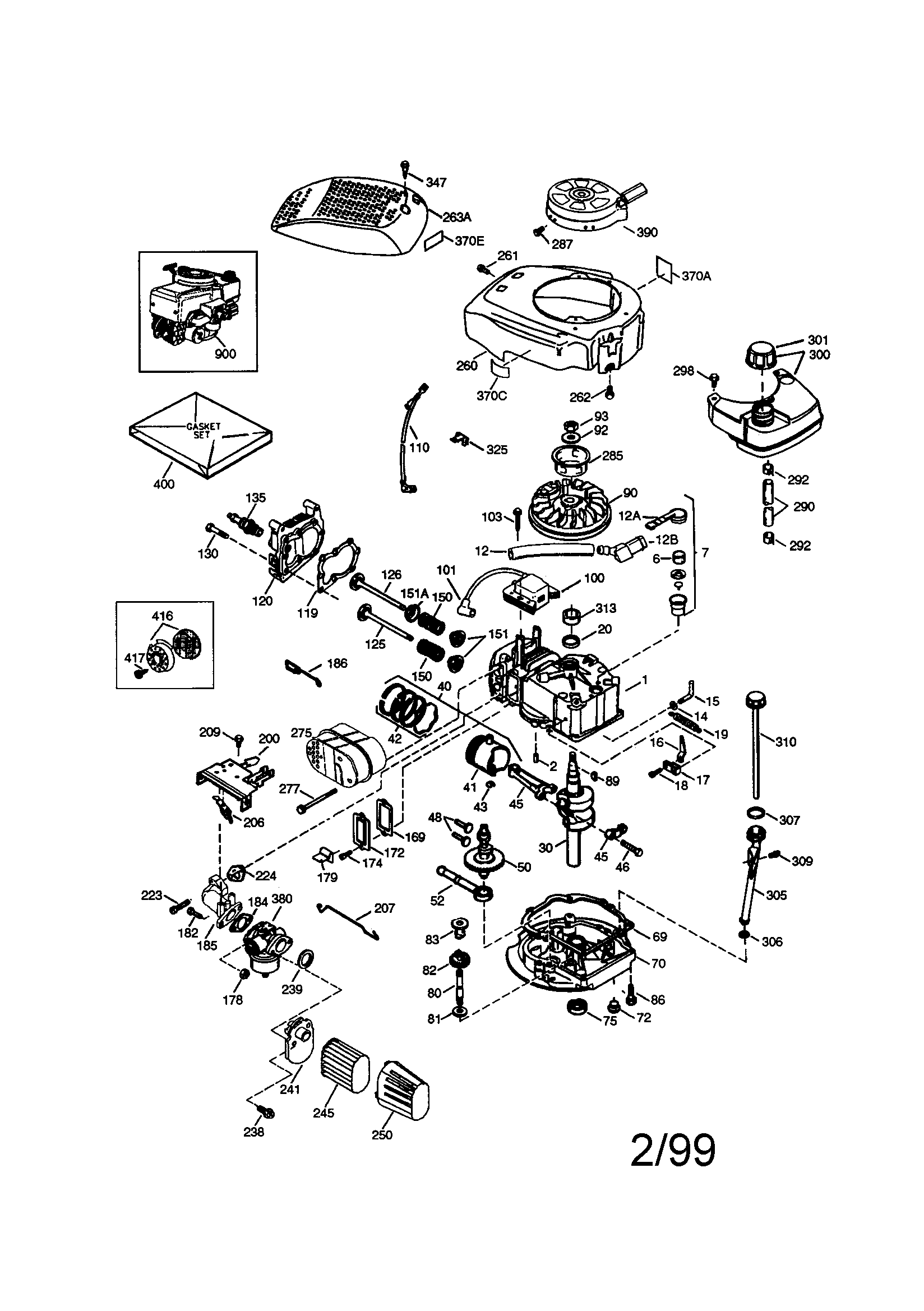 tecumseh 6 5 hp engine diagram 36 volt golf cart battery wiring craftsman parts model 143996516 sears partsdirect