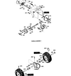 murray 629104x6a drive components diagram [ 1648 x 2338 Pixel ]