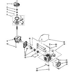 Kenmore Washer Wiring Diagram Nordyne Electric Furnace Model 11029852991 Residential Washers Genuine Parts