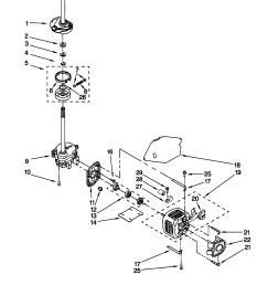 kenmore 11029852991 brake clutch gearcase motor pump diagram [ 1648 x 2338 Pixel ]
