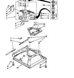 kenmore 11029852991 machine base diagram [ 1648 x 2338 Pixel ]