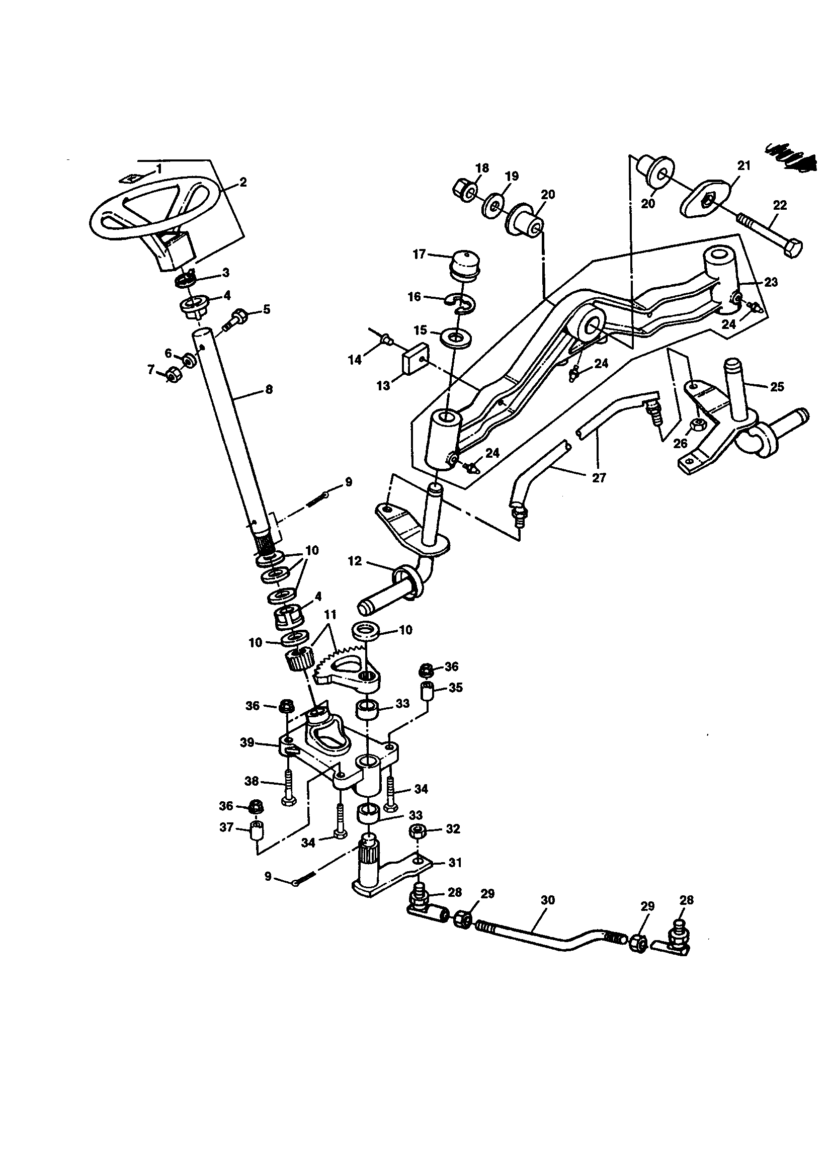 Lx277 Parts Diagram likewise 2006 Lincoln Zephyr Parts Diagram Html further John Deere L107 Garden Tractor Spare Parts in addition John Deere La150 Lawn Tractor Parts Throughout L110 John Deere Parts Diagram besides 6gubf John Deere L110 Riding Lawn Mower Worked Ok Until. on john deere l110 steering parts