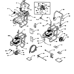 Craftsman Pressure Washer Pump Parts Diagram 95 Mustang Gt Headlight Switch Wiring High Model 580768020