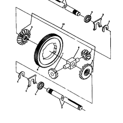 John Deere 320 Drive Belt Diagram 1997 Nissan Pathfinder Exhaust System 214 Parts Lt160 Manual
