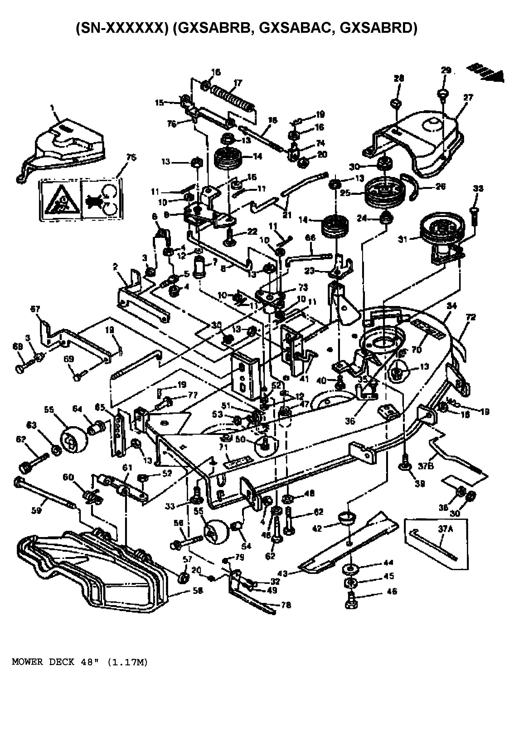 400 john deere riding lawn mower wiring diagram [ 1648 x 2338 Pixel ]