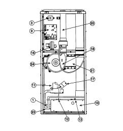 intertherm furnace part diagram [ 1648 x 2338 Pixel ]