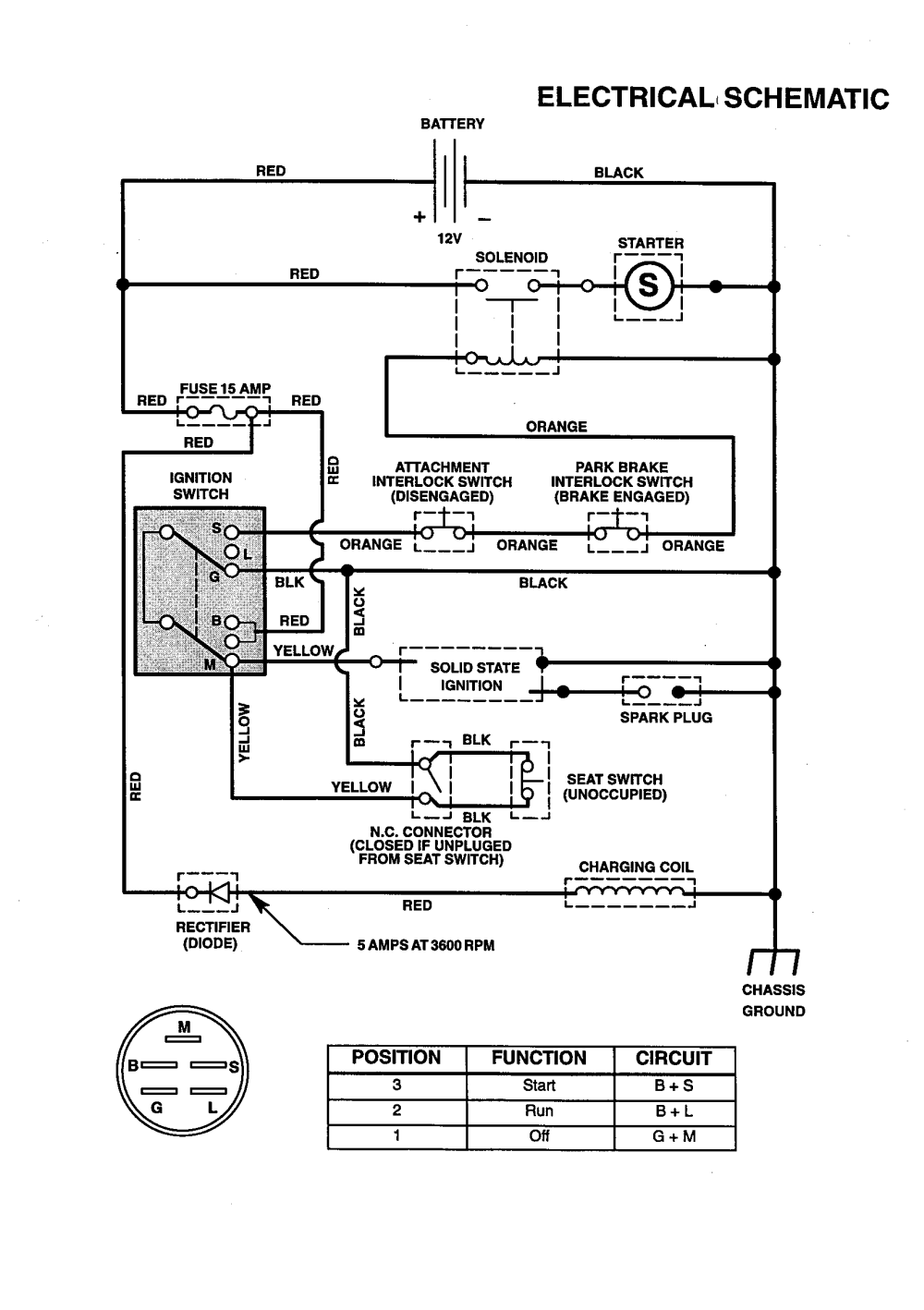 medium resolution of craftsman 536270211 electrical schematic diagram