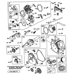 briggs stratton model 121412 0148 e1 engine genuine parts rh searspartsdirect com 17 hp briggs and [ 1648 x 2338 Pixel ]