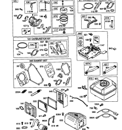 briggs stratton 121412 0148 e1 carburetor air filter and fuel tank diagram [ 1648 x 2338 Pixel ]
