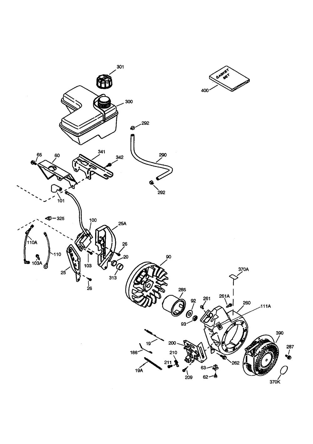 medium resolution of tecumseh ohh60 71131c flywheel diagram