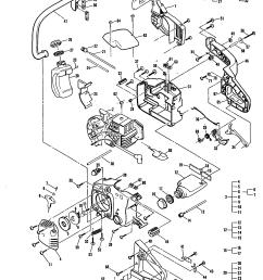 mcculloch mac 3516 11 600035 10 general assembly diagram [ 1648 x 2338 Pixel ]