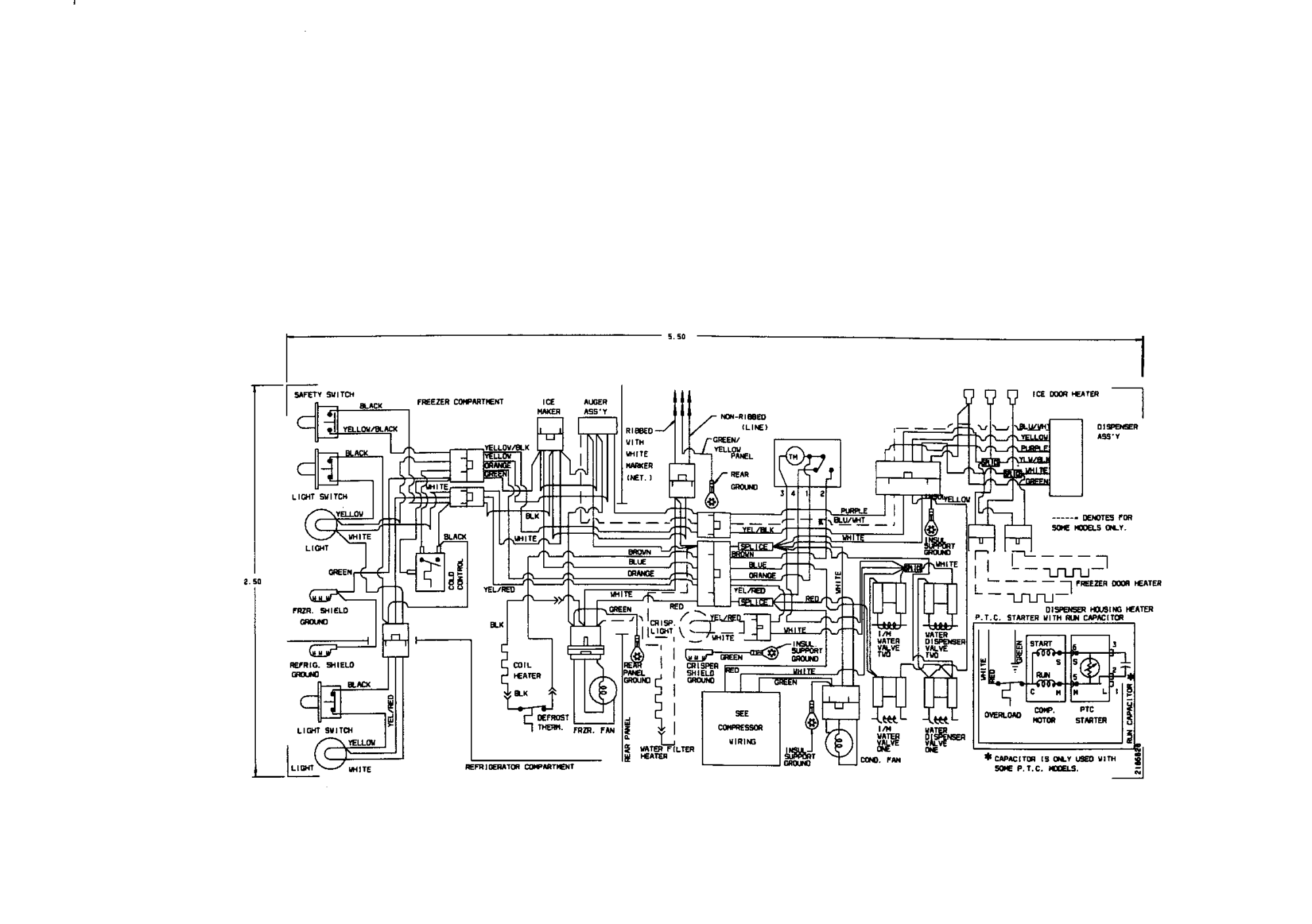 hight resolution of looking for kenmore model 25357672791 side by side refrigerator kenmore elite refrigerator wiring diagram sears refrigerator wiring diagram
