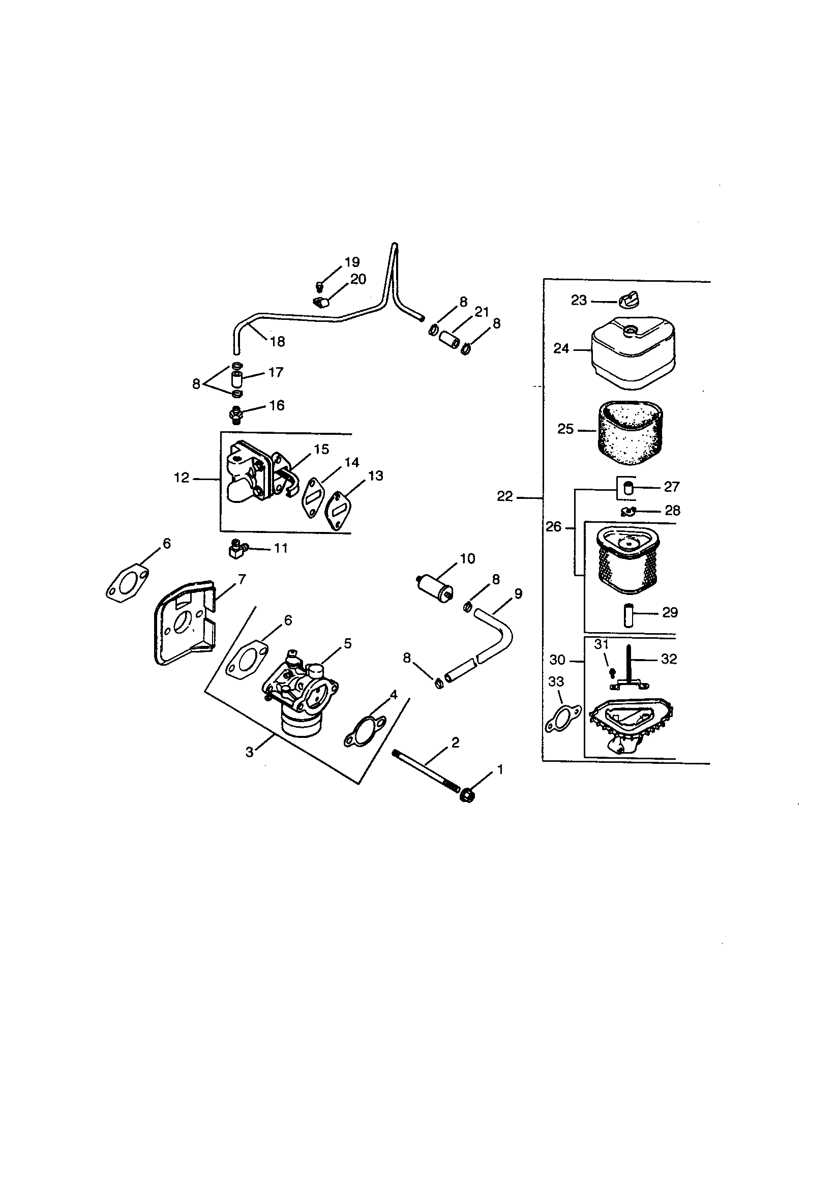 hight resolution of kohler cv15s ps41588 fuel and air system diagram