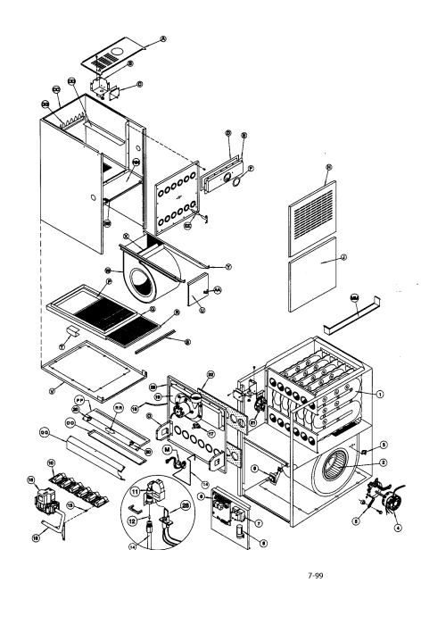 small resolution of icp gne075b12a1 replacement parts diagram