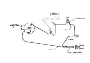 EUREKA Mighty Mite Wiring diagram Parts | Model 3685B