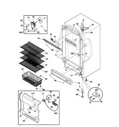 kenmore 2539284213 cabinet diagram [ 1696 x 2200 Pixel ]