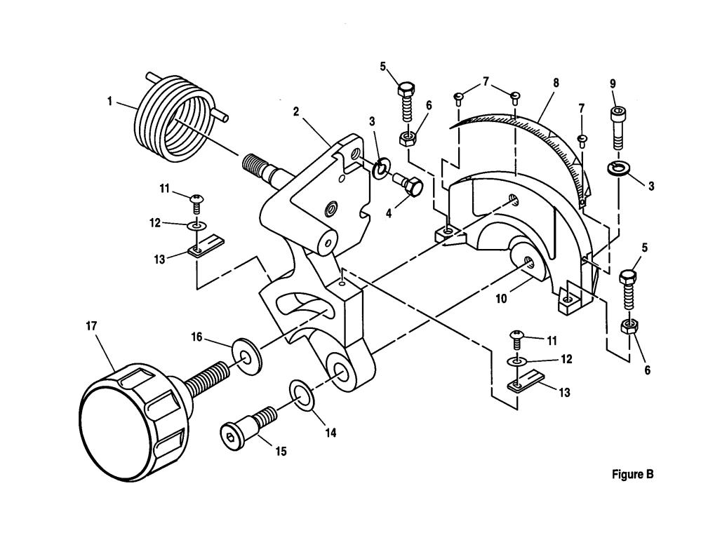 medium resolution of craftsman 10 compound miter saw bevel pivot bracket assembly parts