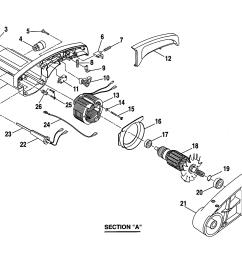craftsman 10 compound miter saw armature assembly parts [ 2200 x 1696 Pixel ]