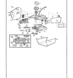 craftsman 13953650srt opener assembly diagram [ 1696 x 2200 Pixel ]