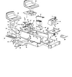 mtd 13ah665f020 frame seat fuel tank diagram [ 1696 x 2200 Pixel ]
