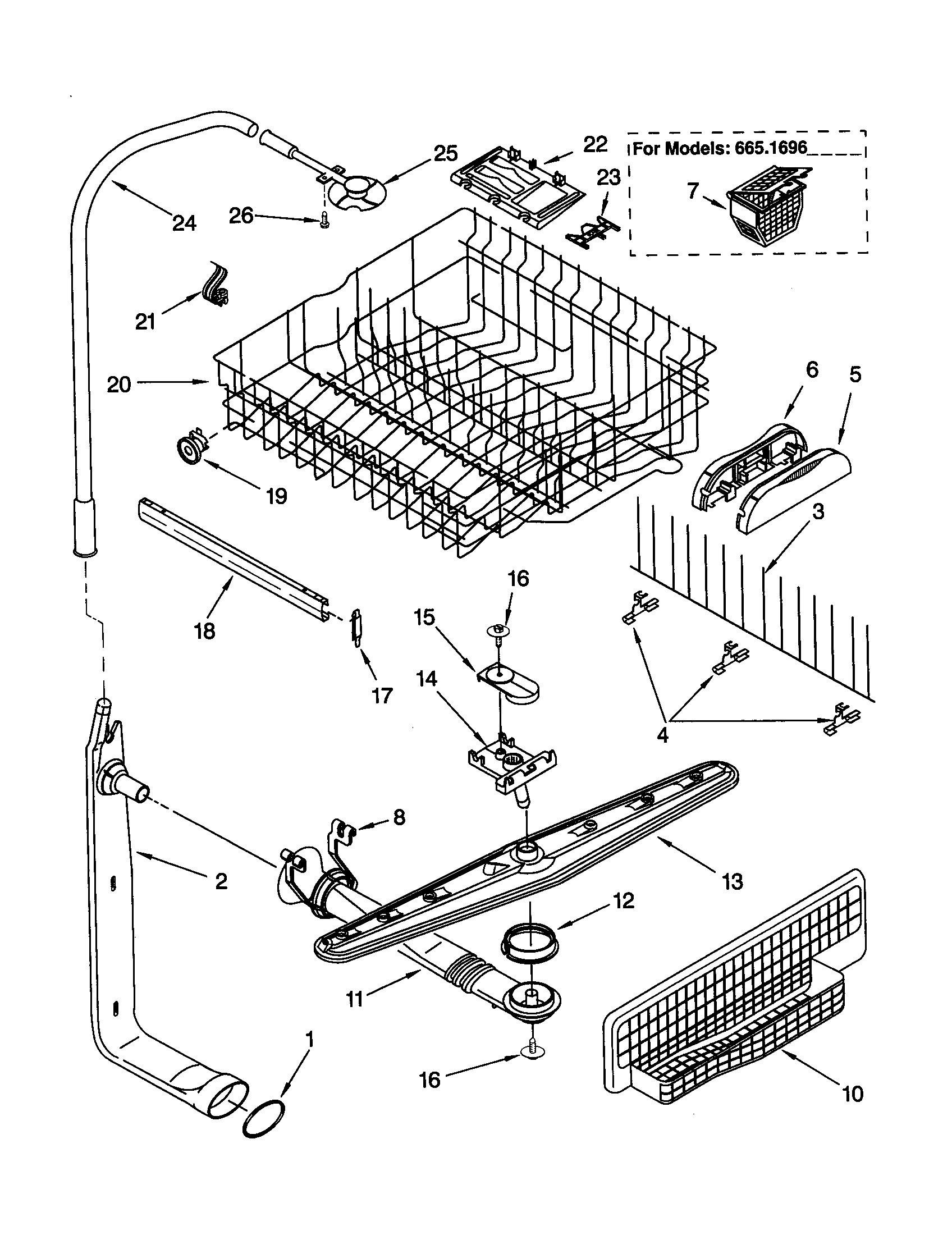 kenmore elite dishwasher 665 parts diagram 2002 mitsubishi lancer stereo wiring schematic library