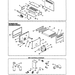 Furnace Thermostat Wiring Diagram Ford Mondeo Goodman Schematic Database Model Gmn100 4 Heater Gas Genuine Parts Harness