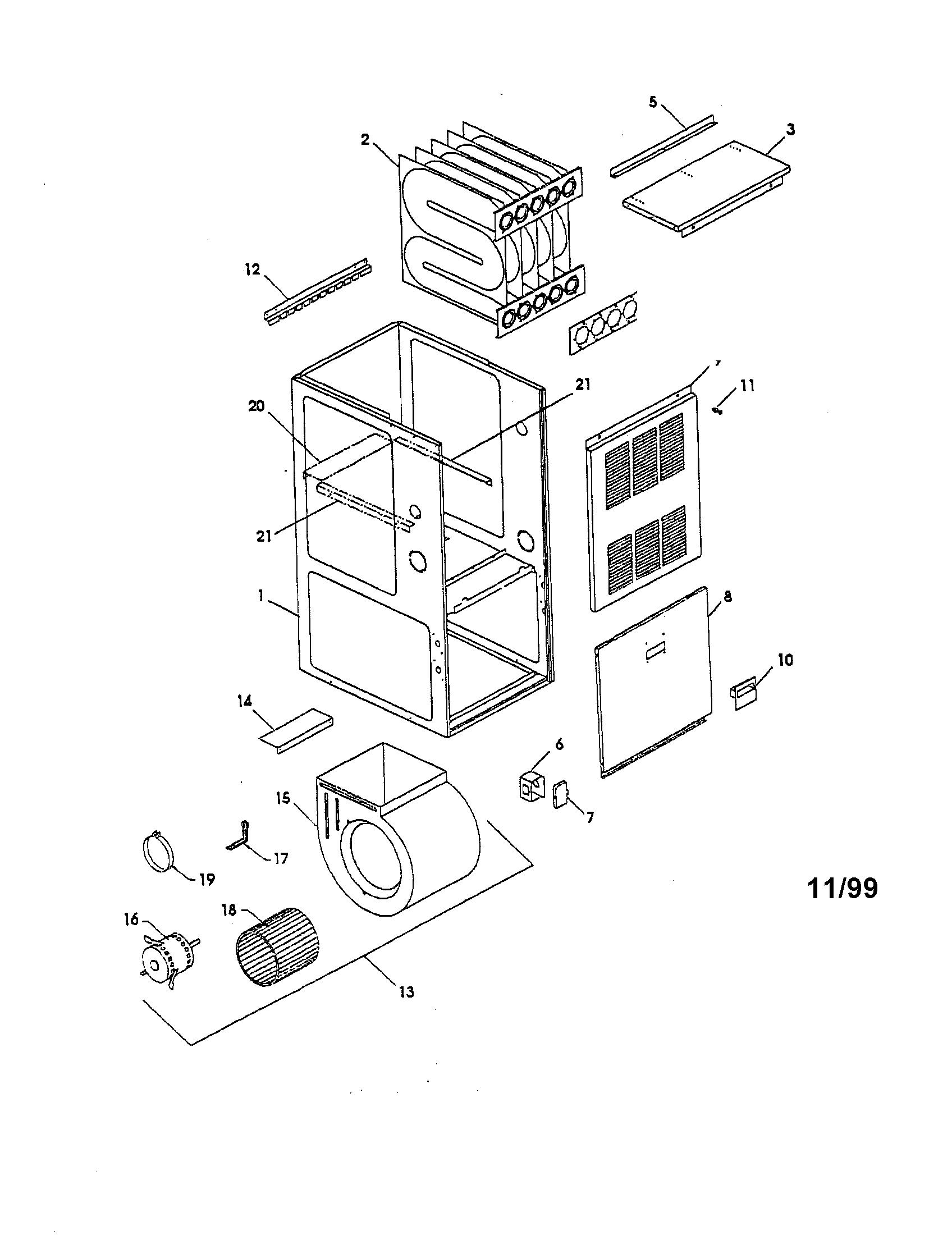 hight resolution of goodman gmn120 5 heat exchanger diagram