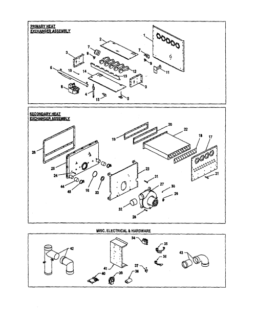 small resolution of goodman gmn120 5 heat exchangers misc electrical diagram