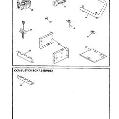Goodman Furnace Parts Diagram Hpm Light Dimmer Wiring Gas Burner Combustion Box Model