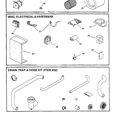 Goodman Furnace Parts Diagram Nissan 1400 Bakkie Wiring Blower Misc Electrical Drain Trap And List