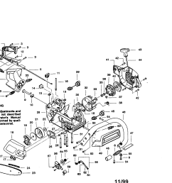 craftsman 358351380 chain saw diagram [ 2200 x 1696 Pixel ]