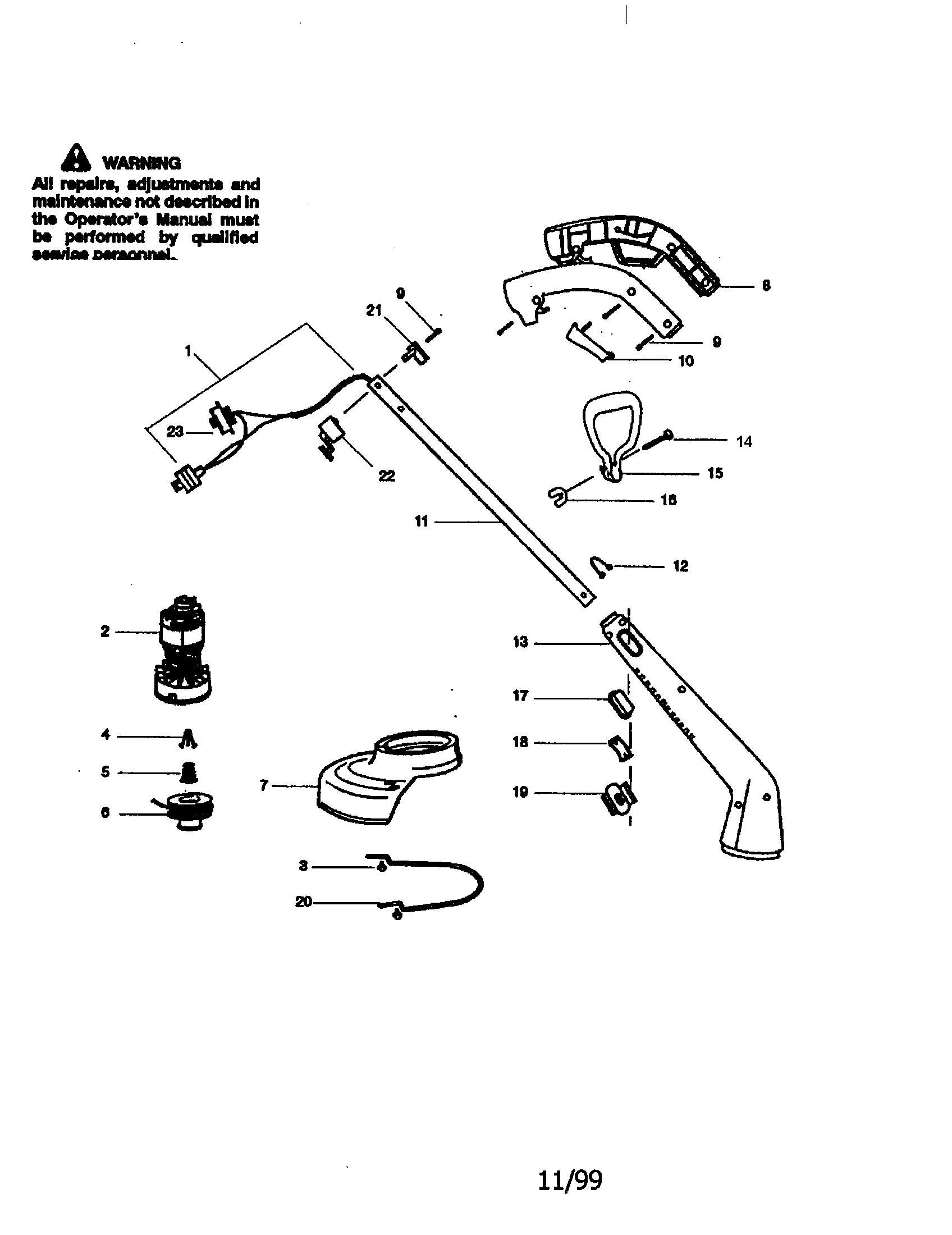 Craftsman Weedwacker Parts Model Sears Partsdirect