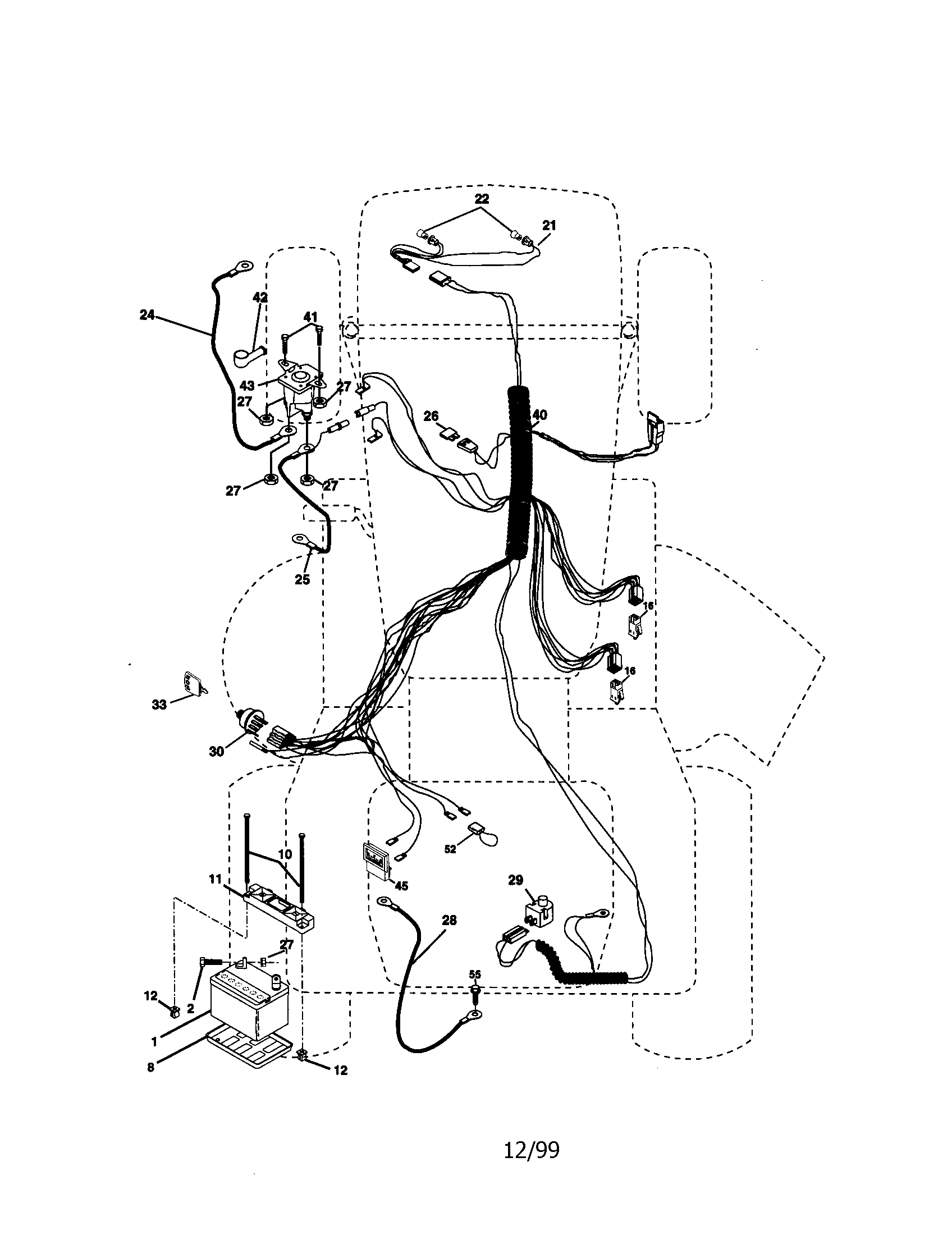 Lt1000 Wiring Diagram 17 5hp In Addition Craftsman Riding