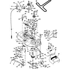 Lawn Mower Key Switch Diagram Nfhs Shot Put Layout Craftsman Model 917270912 Tractor Genuine Parts