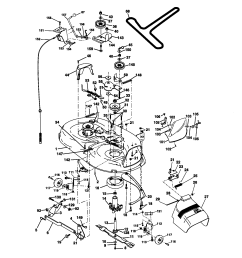 craftsman 917270912 mower deck diagram [ 1696 x 2200 Pixel ]