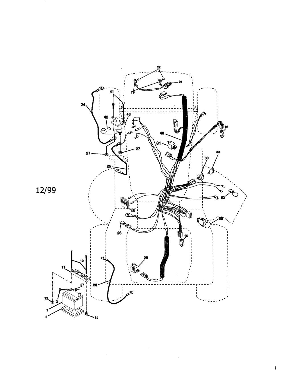 medium resolution of craftsman 917273100 electrical diagram