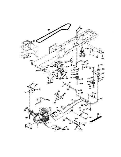 small resolution of craftsman 917271140 ground drive diagram