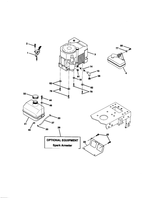 small resolution of craftsman 917271140 engine diagram engine craftsman 917271140 electrical diagram