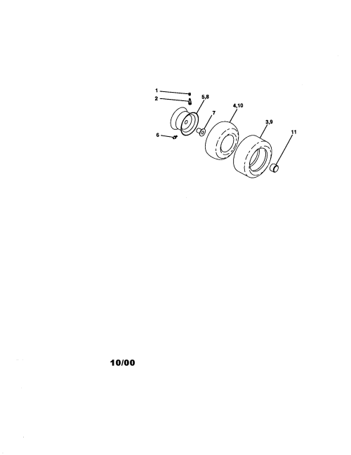 small resolution of craftsman 917271140 wheels diagram