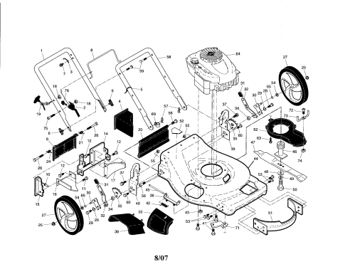 small resolution of scotts lawn mower parts diagram