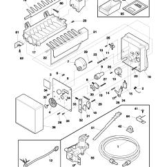 Ice Maker Diagram Frog Dissection Nuptial Pad Universal Multiflex Frigidaire Model Im115 Kits Genuine Parts