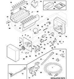 looking for universal multiflex frigidaire model im115 water ice frigidaire ice maker schematic frigidaire ice maker diagram [ 1700 x 2200 Pixel ]