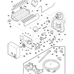 Ice Maker Diagram Directv Genie 2 Wiring Frigidaire Side By Refrigerator Parts